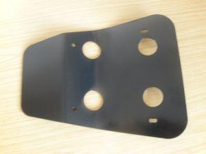 Spritz-/ Steinschlagschutz aus 3mm Alu schwarz beschichtet