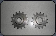 15 Ritzel 7Gang 530er kette / Chain pinion / Pignon de chain