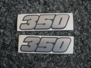 Abziehbild 350/Decal/Decalcomanie