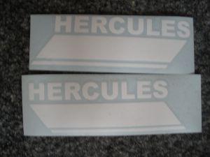 Tankaufkleber Hercules 1976