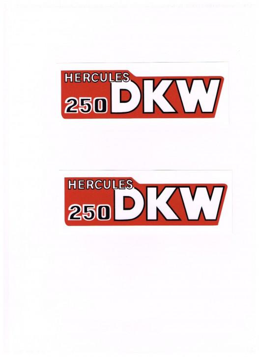 Tankaufkleber Hercules/DKW